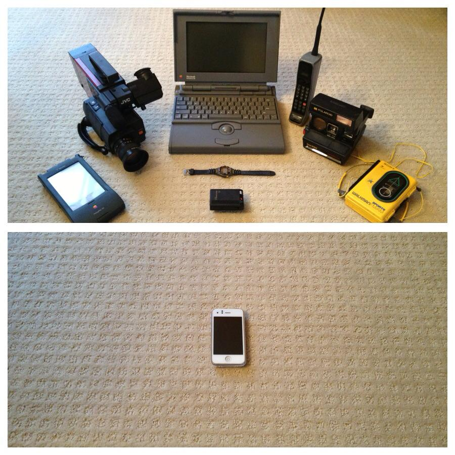 Tech development from 1993 to 2013 in one picture