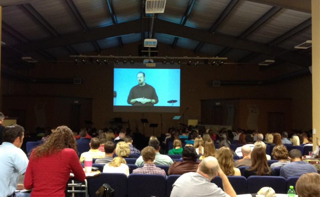 Should pastors preach via video feed? Christopher Ash cites the Incarnation against it