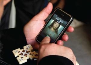 Jesus iphone