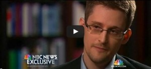 """Snowden: """"I was trained as a spy"""""""