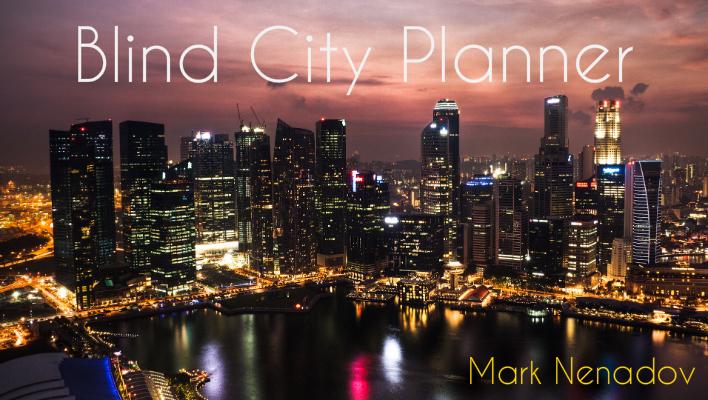 blind city planner