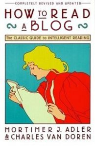 How to Read a Blog